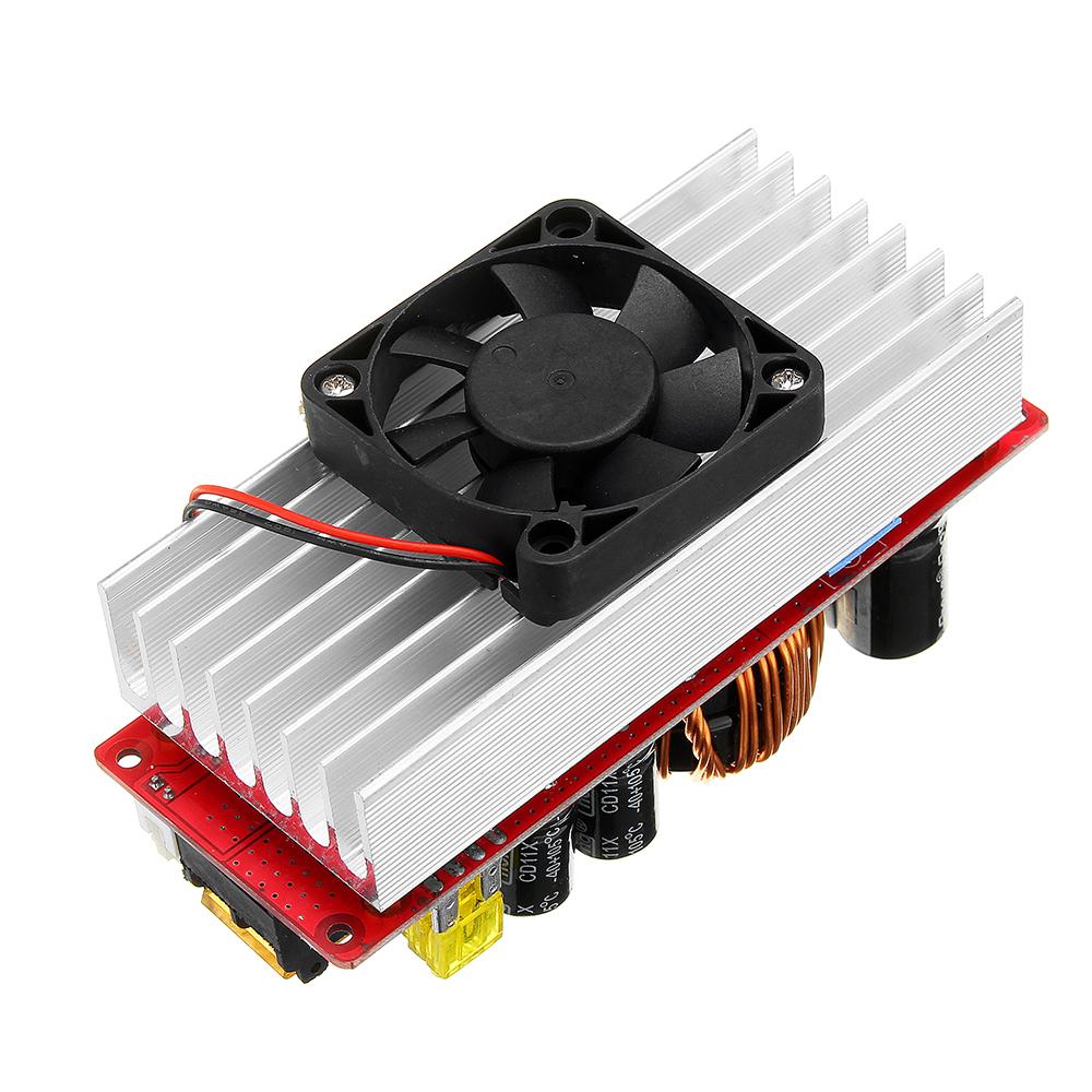 1500W 30A High Power DC-DC Constant Voltage Constant Current Step-up Power Module Boost Converter 12V 24V 48V To 48V 60V 72V