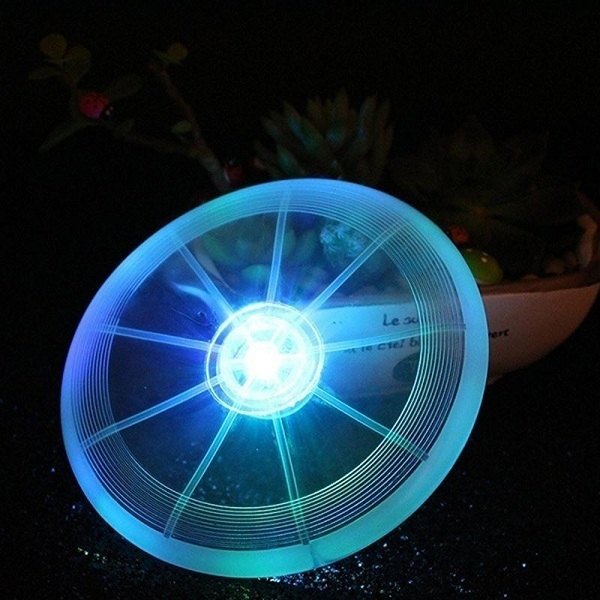 Yani HP-PT9 LED Lights Flying Catch Toy Pet Flying Disc Flashflight Dog Sports Toy Pet Toys