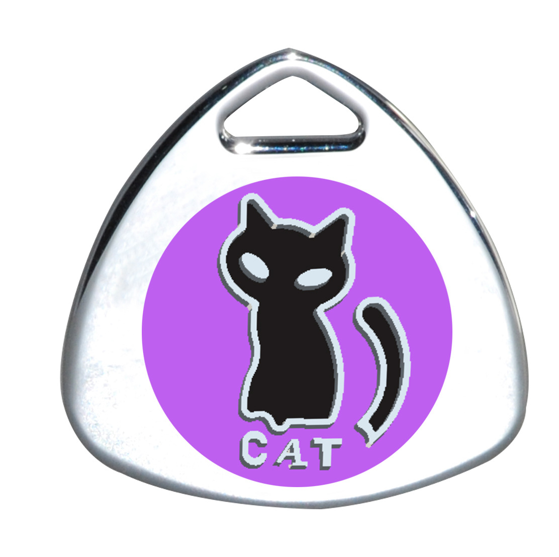 Cat Tag Personalized Engraved Dog ID Tags Pet Collar Pendant For Kitten Puppy Pet Toys