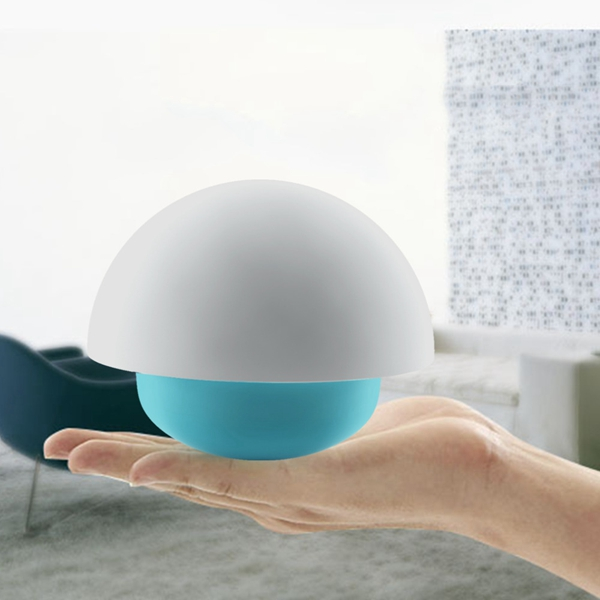Tumbler Mushroom Touch Sensor LED Table Lamp Intelligent Tap Control Coloful Mood Light