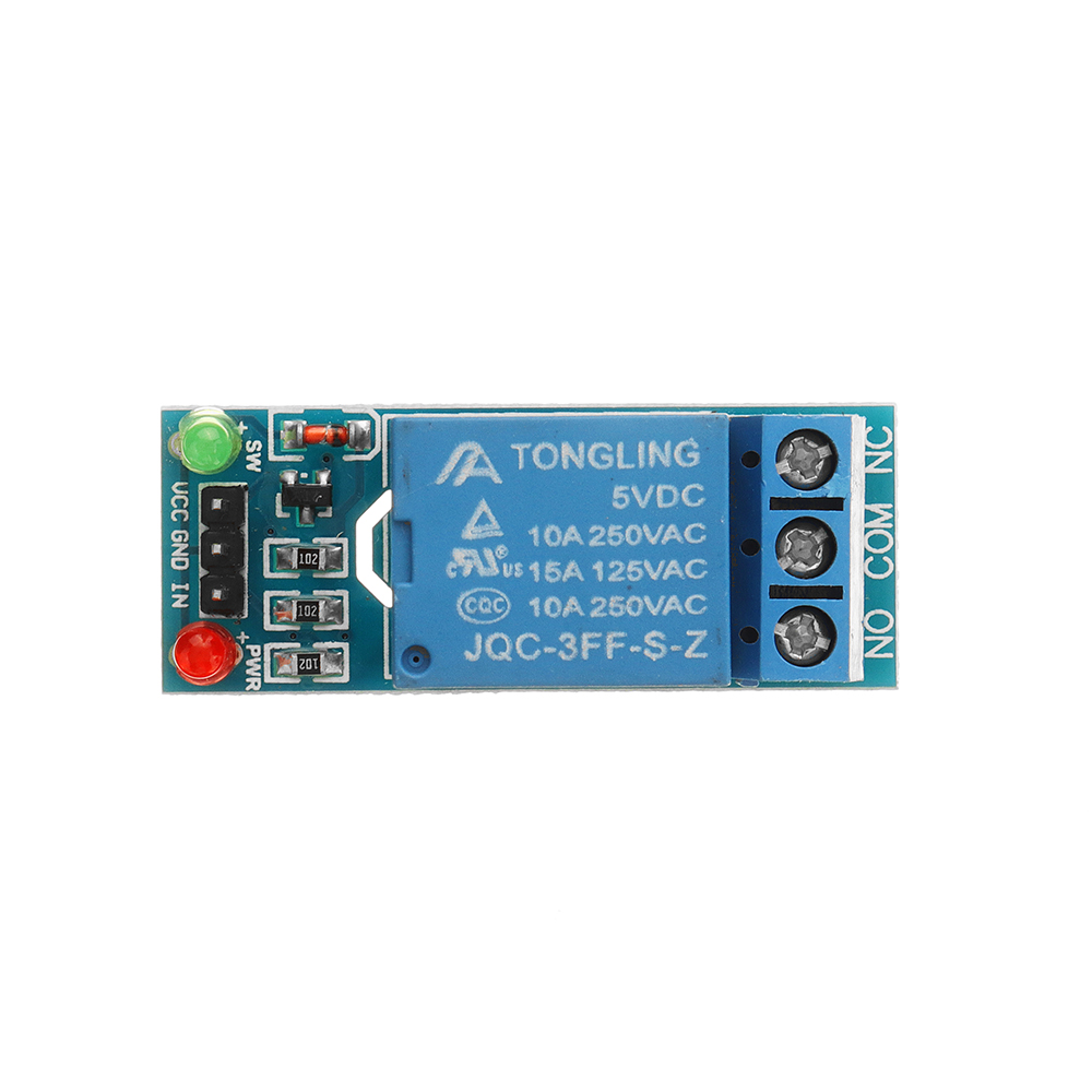 3pcs 5V Low Level Trigger One 1 Channel Relay Module Interface Board Shield DC AC 220V for Arduino PIC AVR DSP ARM MCU