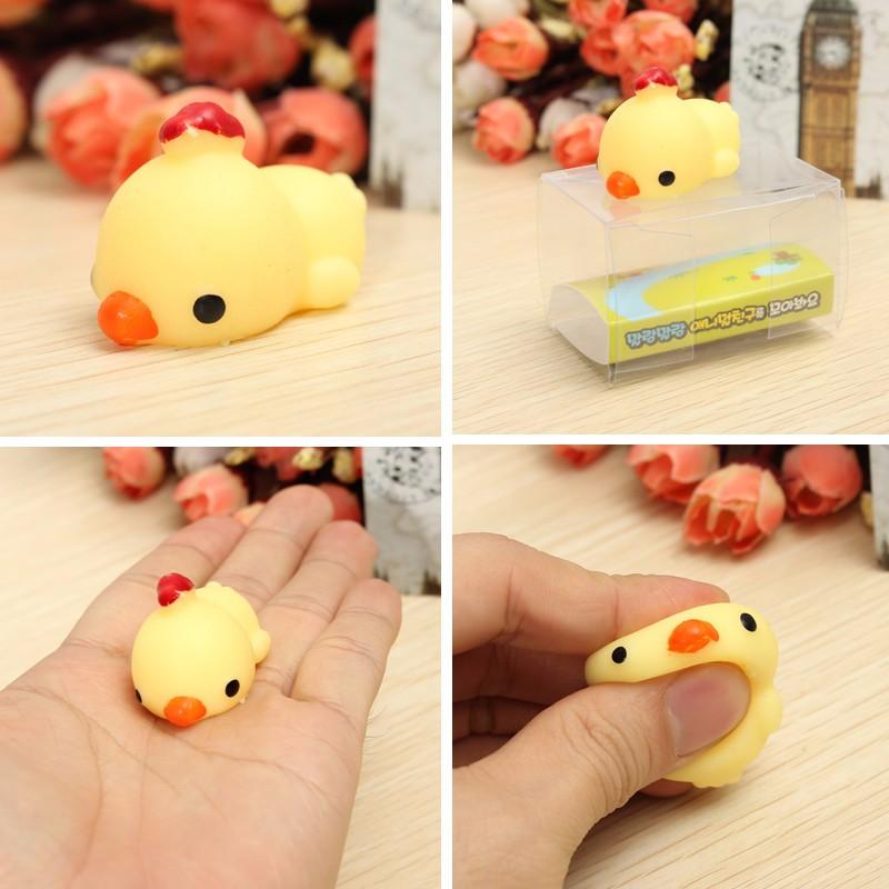 Chick Chicken Squishy Squeeze Cute Healing Toy Kawaii C