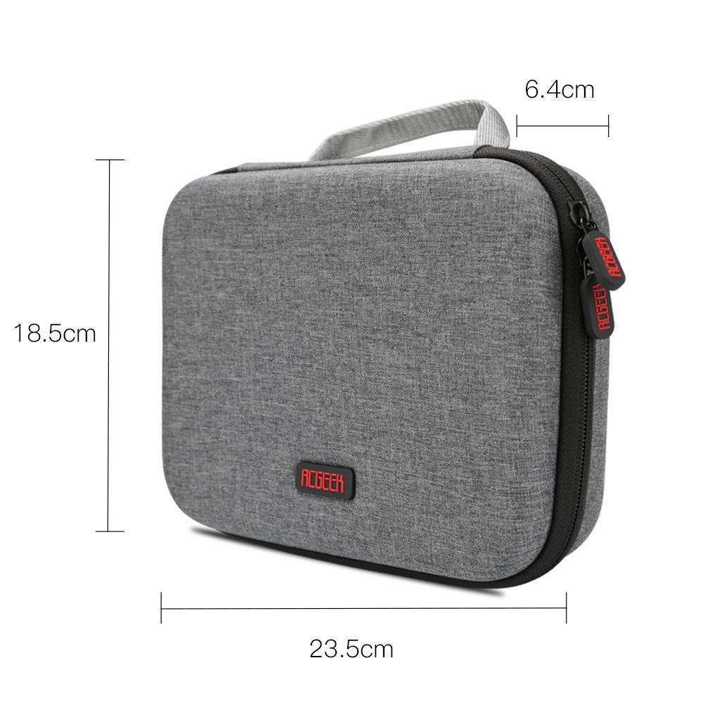 RCGEEK Storage Bag Portable Bag DIY Multifunctional Waterproof Bag for Osmo Mobile 4 Handheld Gimbal Accessories