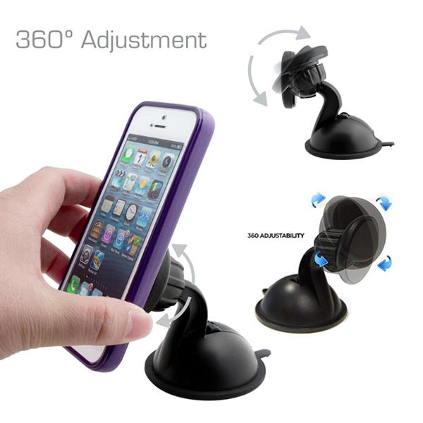 Universal Magnetic Car Dashboard Mount Phone Holder Car Kit Support For Smartphone iPad iPhone GPS