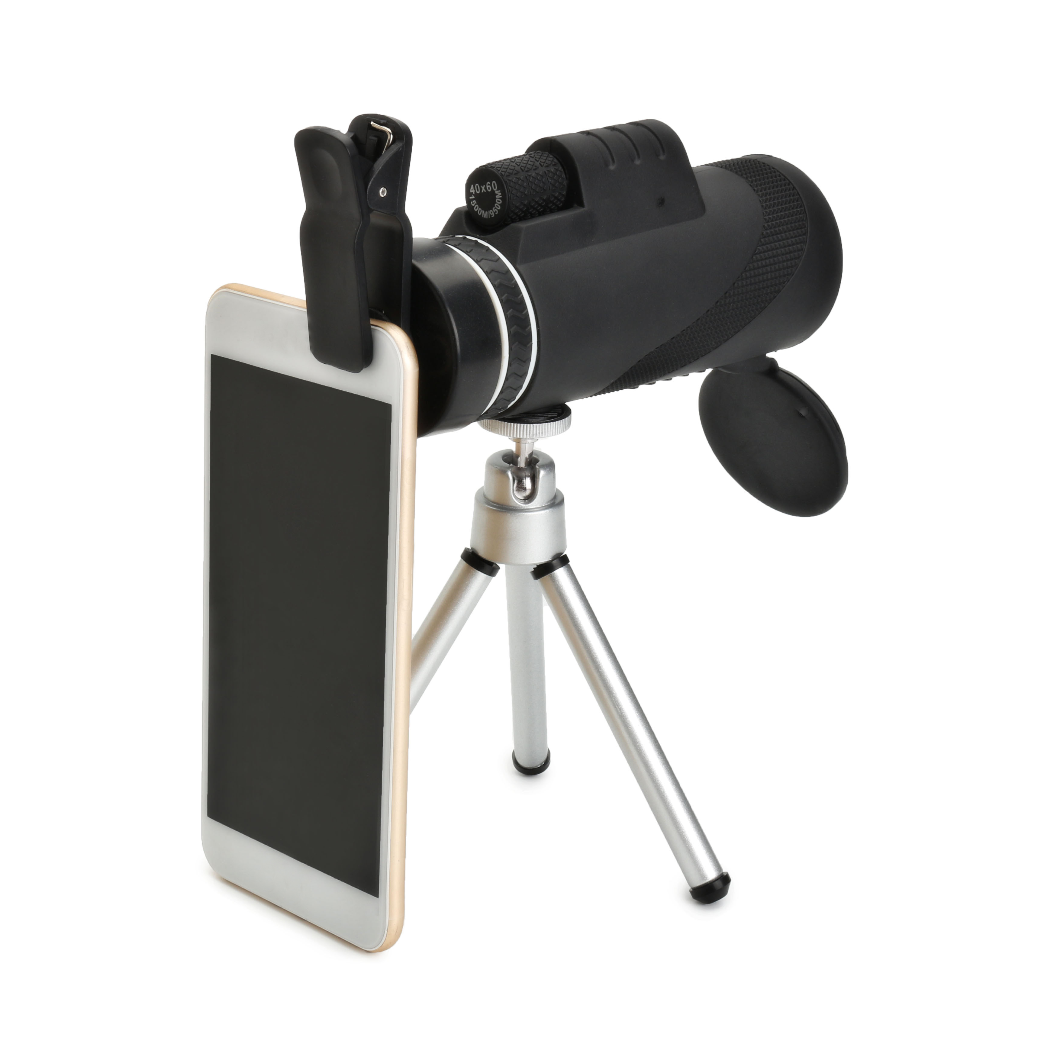 40X60 Focus Zoom Portable Travelling Hiking Monocular T