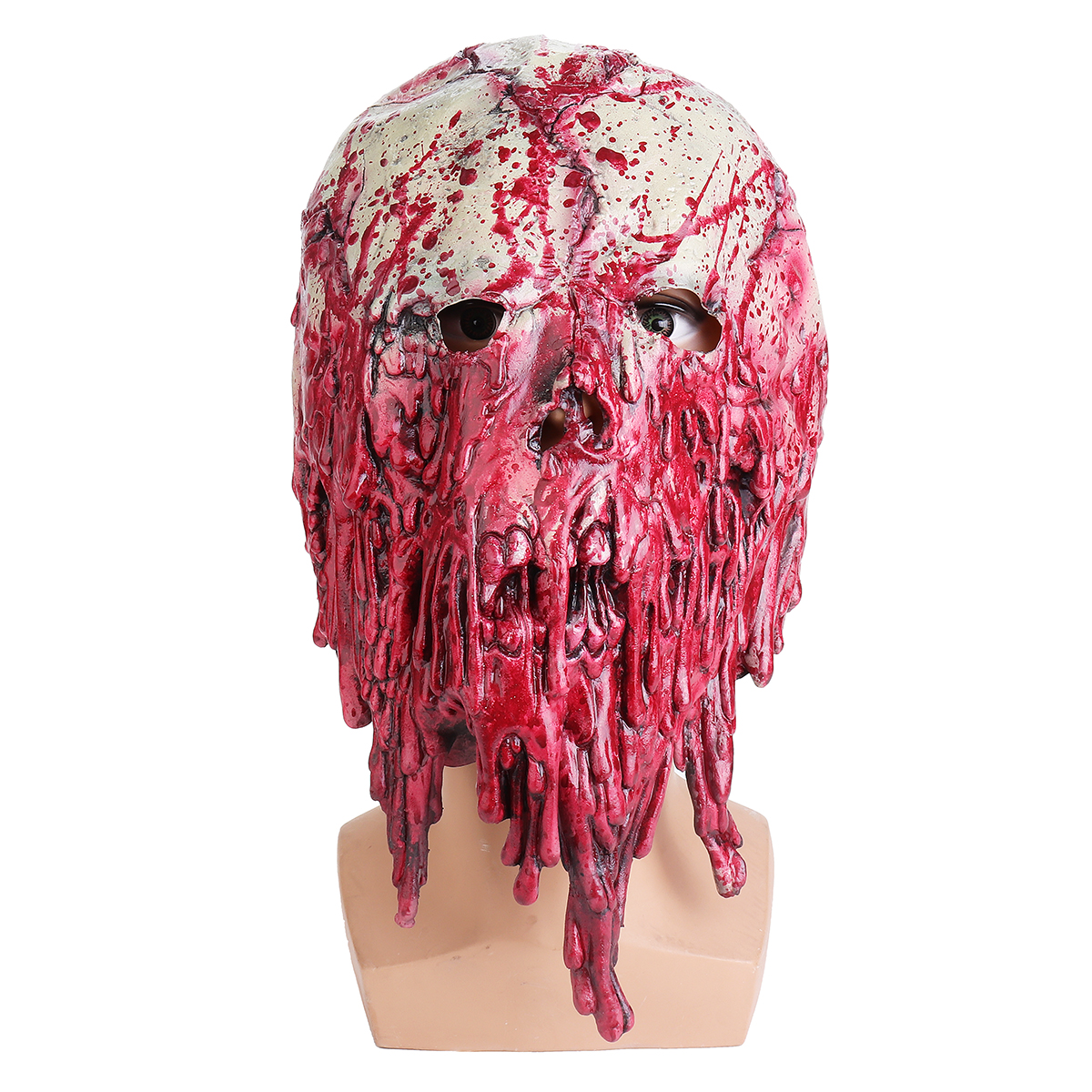 Halloween Mask Bloody Festival Skull Zombie Latex Cosplay Horror Costume Props Mask