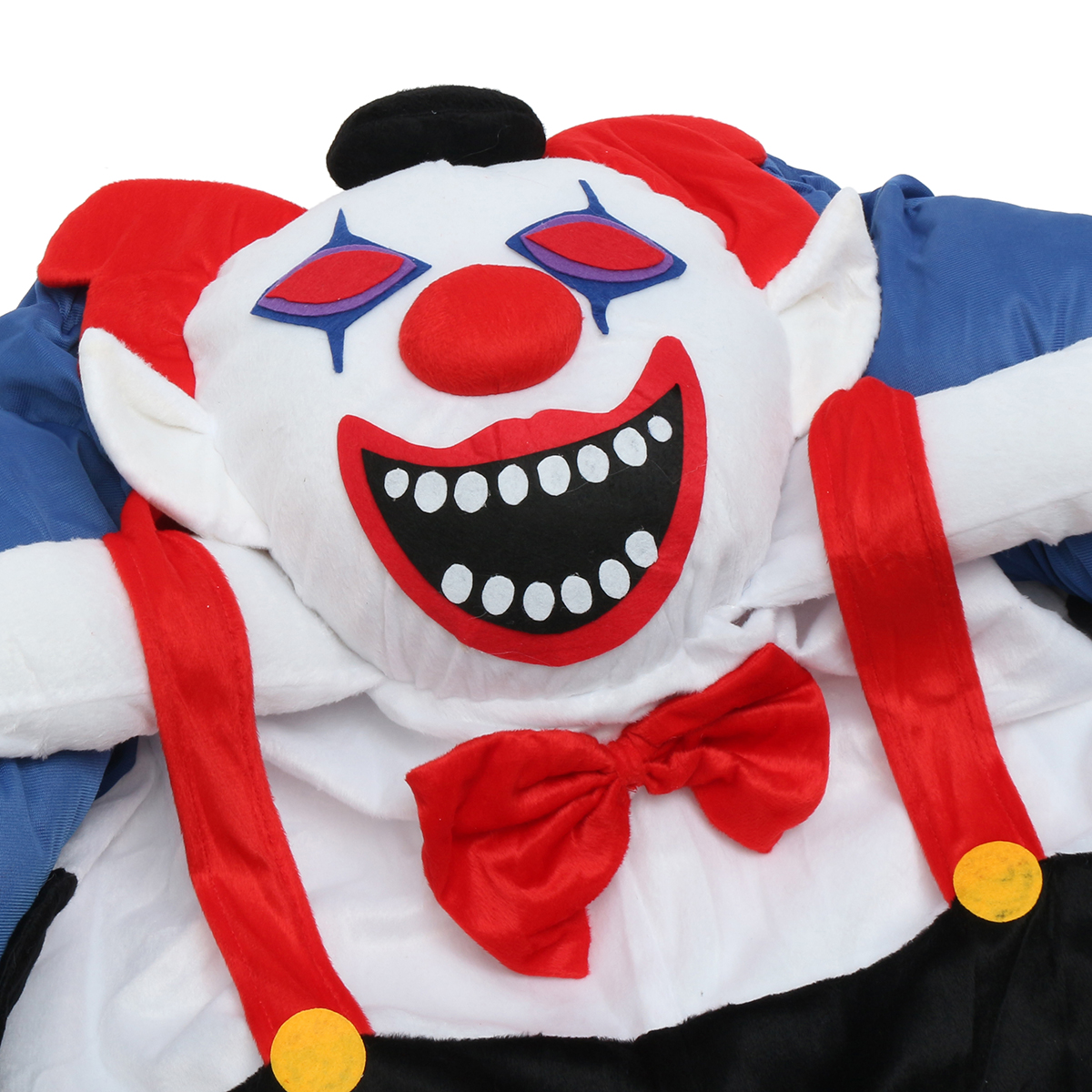 Devil Clown Unisex Dwarf Carry Me Fancy Piggy Back Ride On Dress Mascot Costume Party Pants