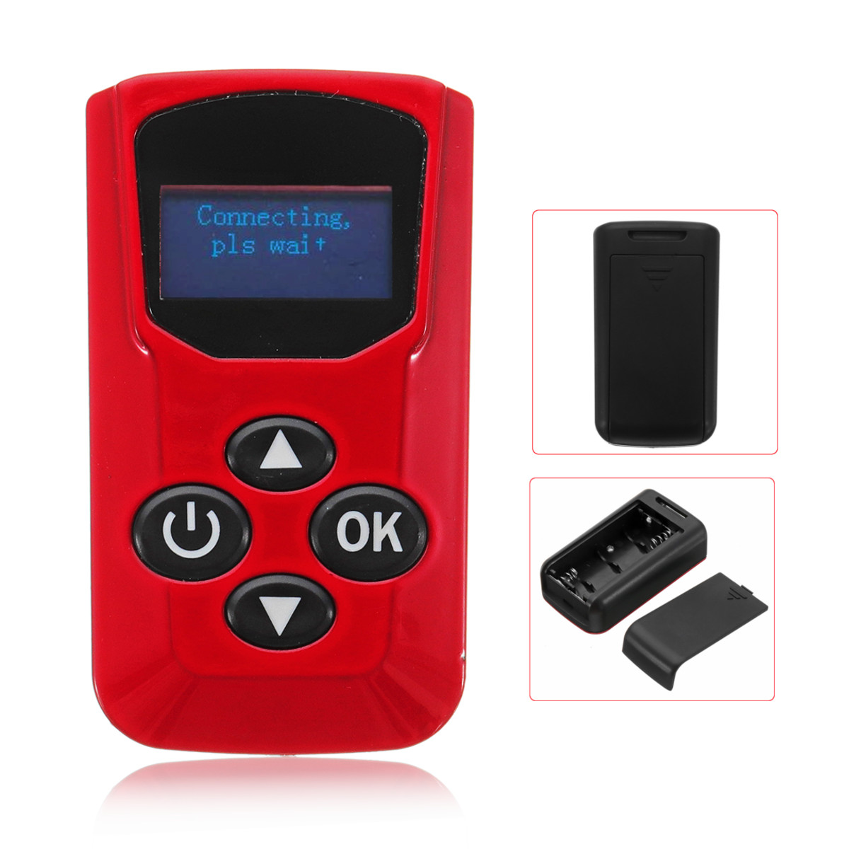 Blue LCD Gold LCD Remote Control For Available Parking Car Heater