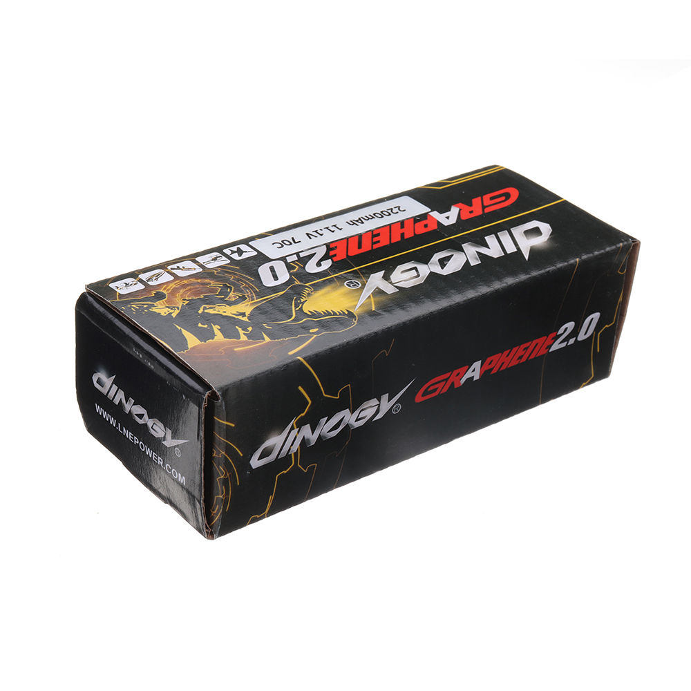 Giant Power DINOGY GRAGPENE 2.0 11.1V 2200mAH 70C 3S Lipo Battery With XT60 Plug For RC Model - Photo: 9