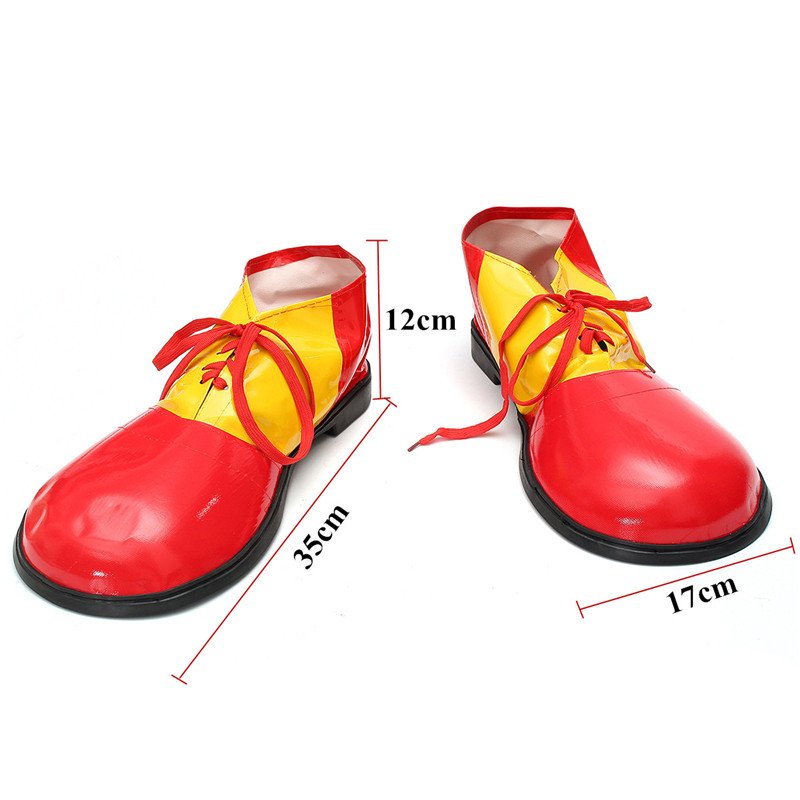Halloween Decoration Clown Colorful Shoes Dancing Dress Up Props Toys