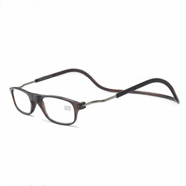 Men Women Magnet Halter Anti-Folding Glasses