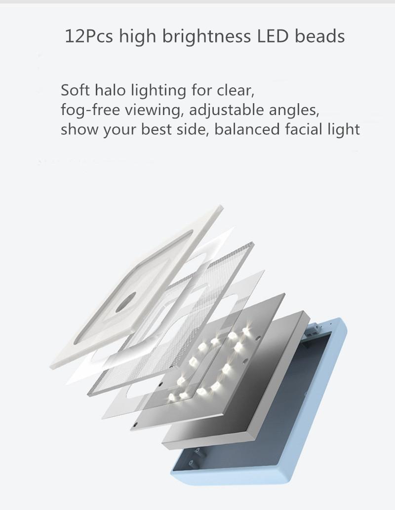VH Makeup Mirror LED Mirrors Power Bank