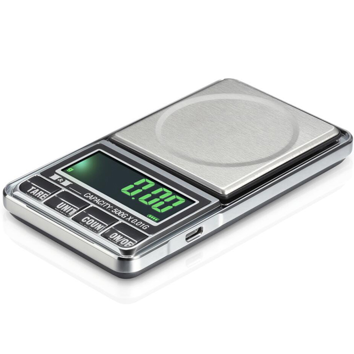 1000g 0.1g USB Digital Pocket Charging Scale Jewelry Scale Balance Weighing Scale g/oz/ozt/dwt/ct/t/gn