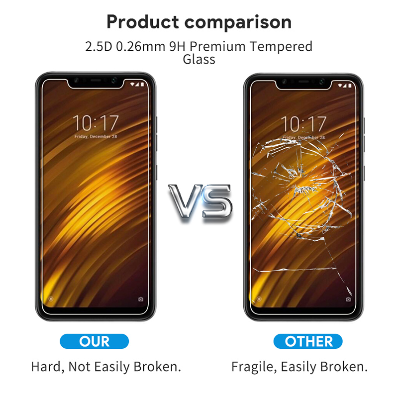 Bakeey™ 9H Anit-explosion Tempered Glass Screen Protector for Xiaomi Pocophone F1