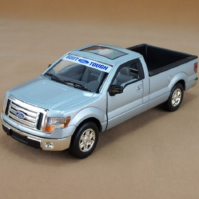 MSZ 1:32 Ford 88410F150 Pickup Truck Metal Model Light Alloy Wind Up Car Model Toy