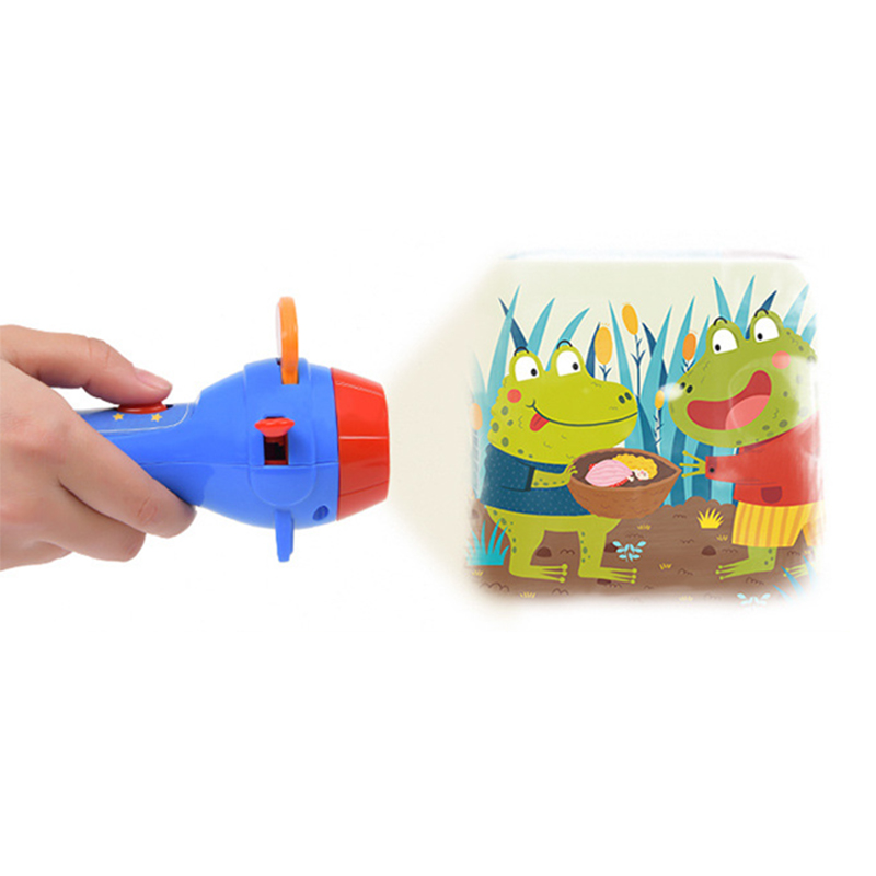 MiDeer Fairy Tale Projector Funny Children's Night Fuminous Toy Kid Book Torch