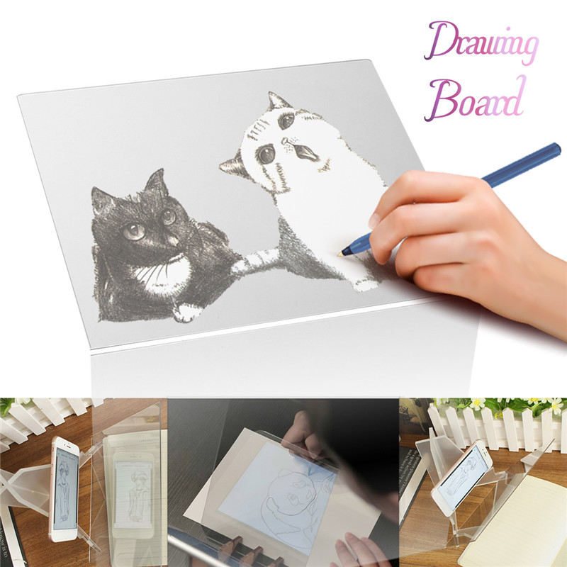 Drawing Board Pad Table Sketch Drawing Linfen Board Reflection Of Mirrors