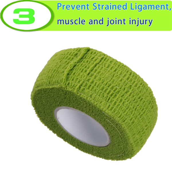 Self-adhesive Non-woven Fabrics Colorful Bandage For Sports Safety