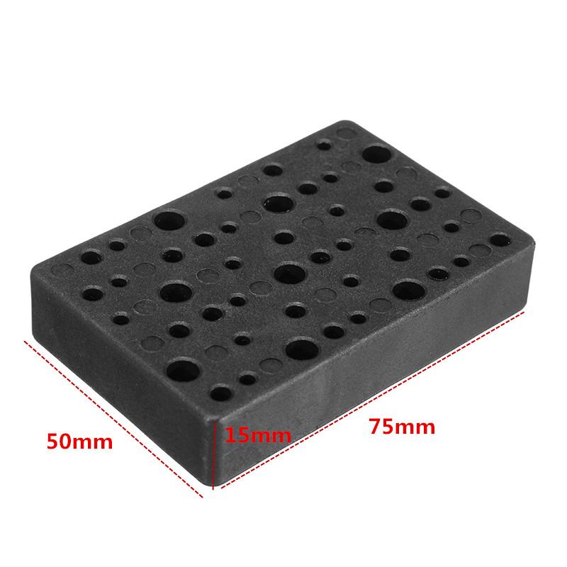 Hilda Electric 48 Holes Drill Bit Storage Block Box Case for Dremel Rotary Tool Accessories