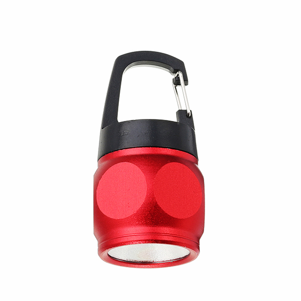 Mini COB Keychain Flashlight Night Light Aluminium Alloy Pocket Portable Emergency Lamp