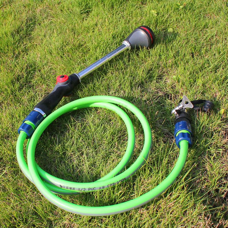 Garden Spraying Gun Flower Plants Watering Sprinkler 8 Patten Irrigation House Cleaning Tools