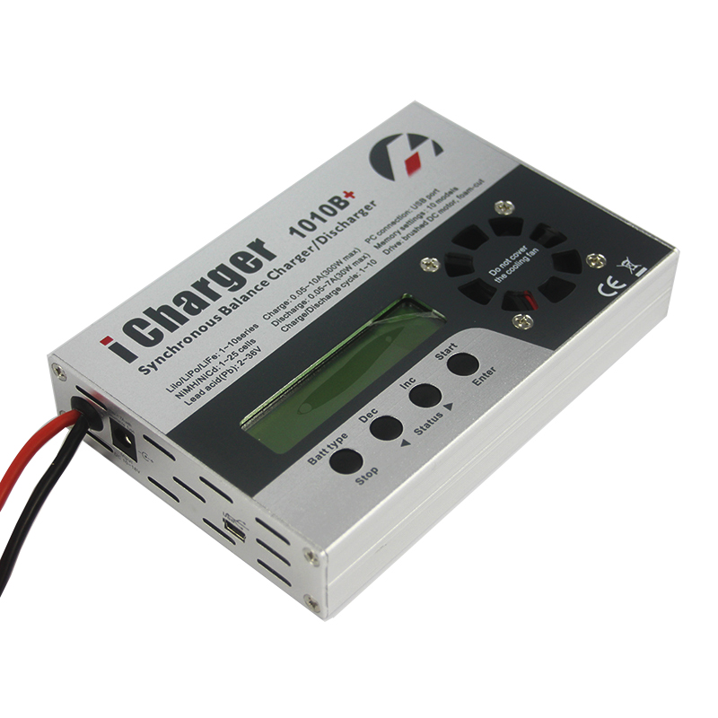 iCharger 1010B+ 300W 10A DC 1-10S Battery Synchronous Balance Charger Discharger