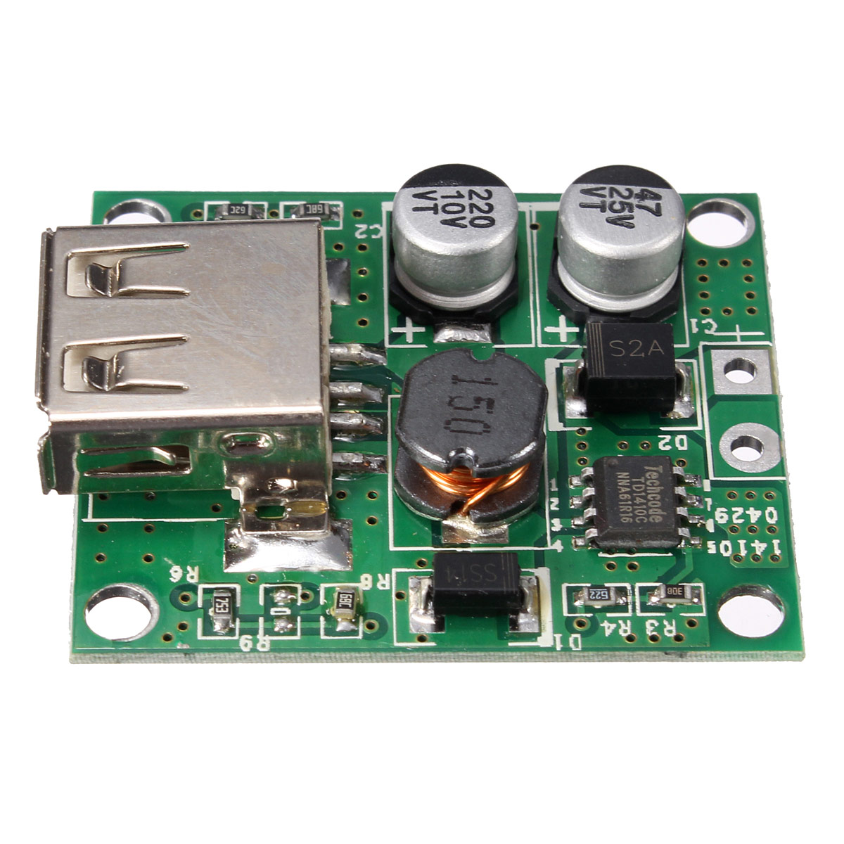 3Pcs 5V 2A Solar Panel Power Bank USB Charge Voltage Controller Regulator Module 6V 20V Input