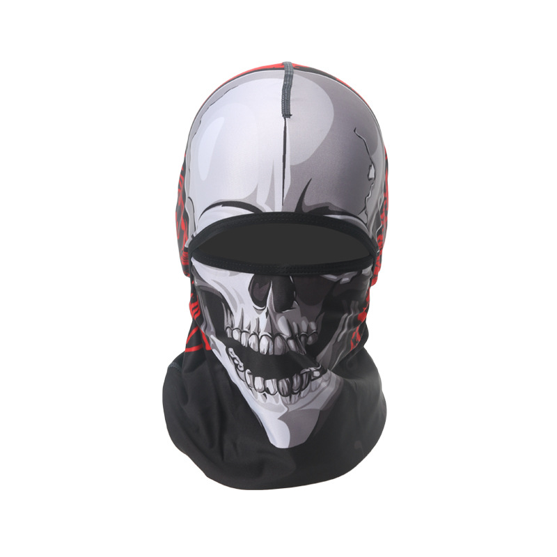 Mens Winter Animal Windproof Sweat Wicking Riding Mask