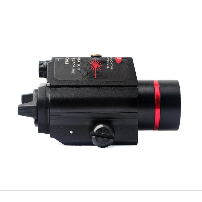 SBEDAR 9908R LED Laser Sight Outdoor Hunting 3 Modes Tactical Red Laser/ Sight Combo Infrared Flashlight