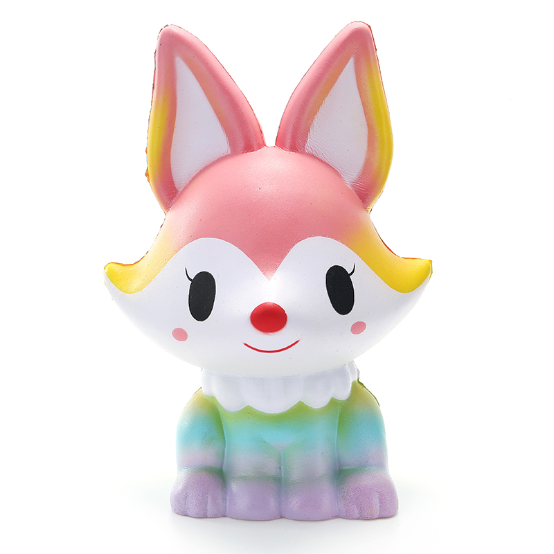 SquishyShop Fox Jumbo 21cm Squishy Slow Rising With Packaging Collection Gift Decor Toy