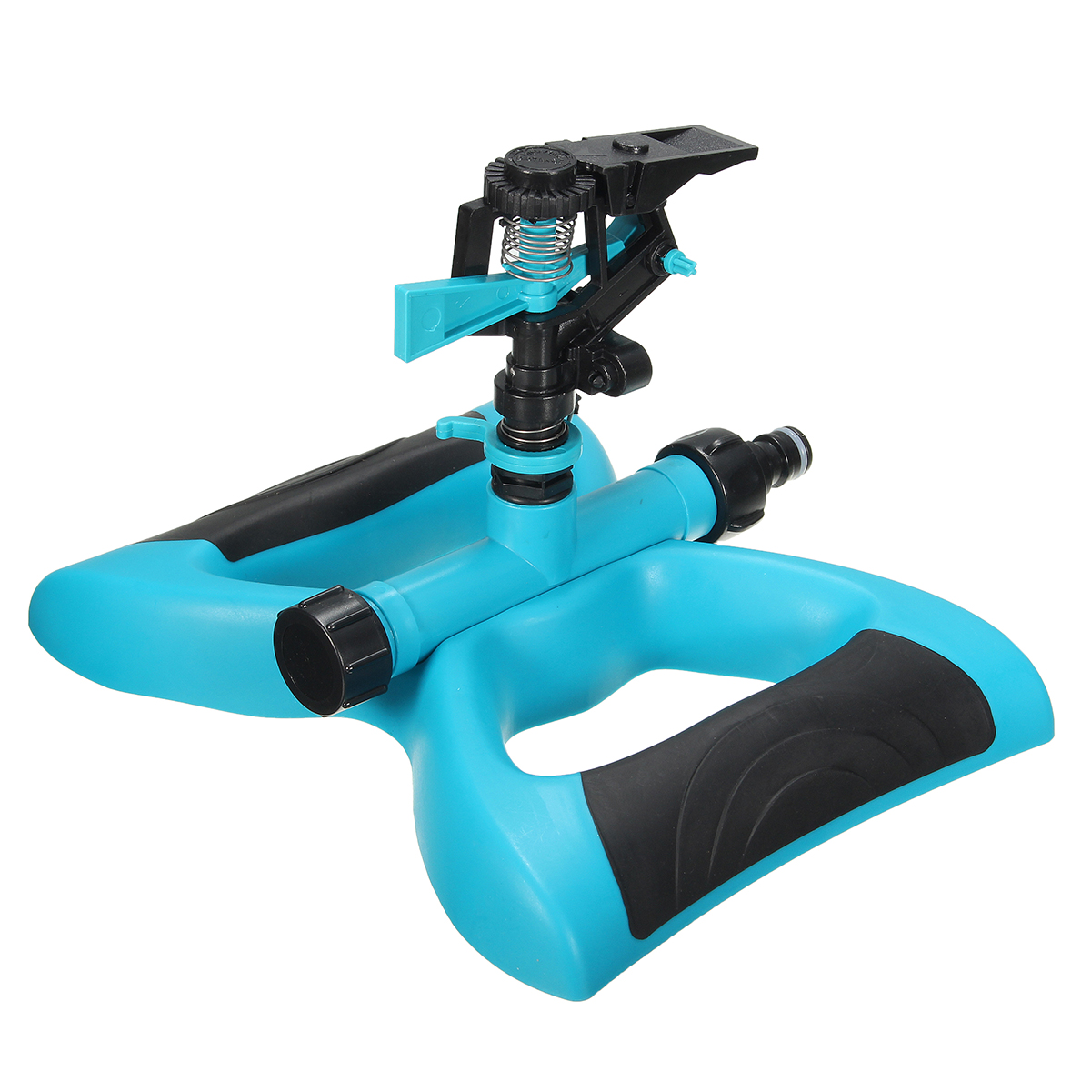 360 Degree Rotating Water Sprinkler Automatic Watering Lawn Garden Plant Yard Irrigation System