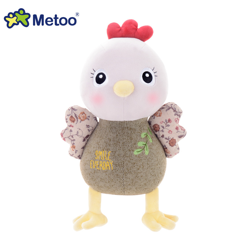 Metoo Doll 7 Inch Plush Sweet Cute Stuffed Chicken Brinquedos Baby Kids Toys Christmas Doll Chick