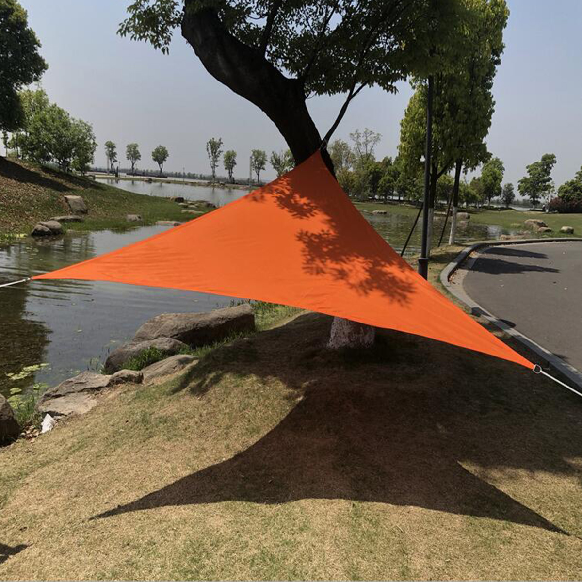 Triangle Waterproof Tent Sunshade Sail Garden Patio Awning Canopy UV Shelter Outdoor Camping