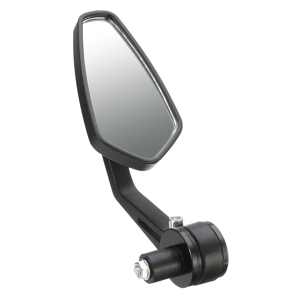 7/8inch Aluminum Handlebar End Rear View Side Mirror Universal For Motorcycle