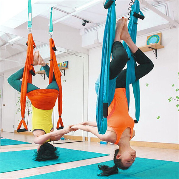 Yoga Swing Sling Trapeze Hammock For Gym Yoga Pilates Tool Bearing