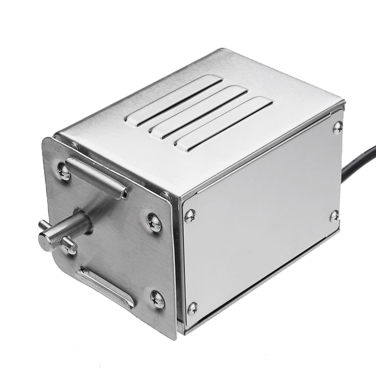 AC220-240V 15W SP-S40 Stainless Steel Barbeque BBQ Spit Rotisserie Motor For Roasted Lambs Piglets Chicken fan