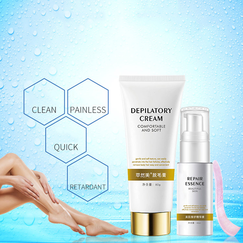 Natural Full Body Hair Removal Cream Men Women Painless