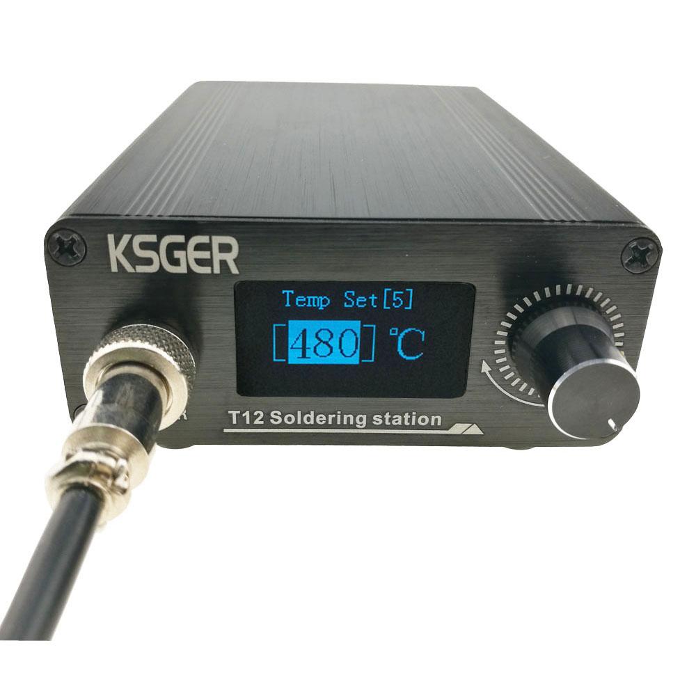 Bộ Điều Khiển Nhiệt Độ Kỹ Thuật Số Trạm Hàn Sắt T12-K Ksger V2.1S T12