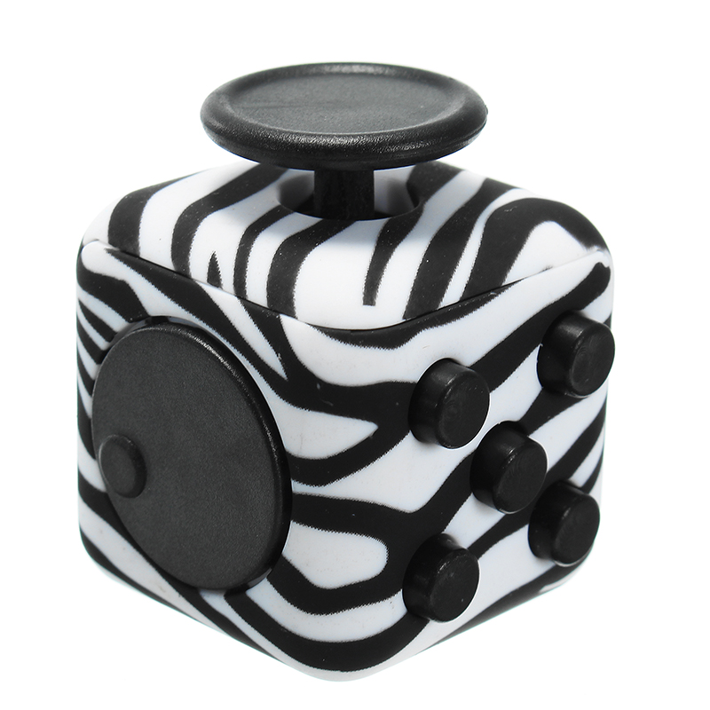 Graffiti Whiny Cube Anxiety Stress Relief Fidget Toys Focus Adults Kids Attention Therapy Gift
