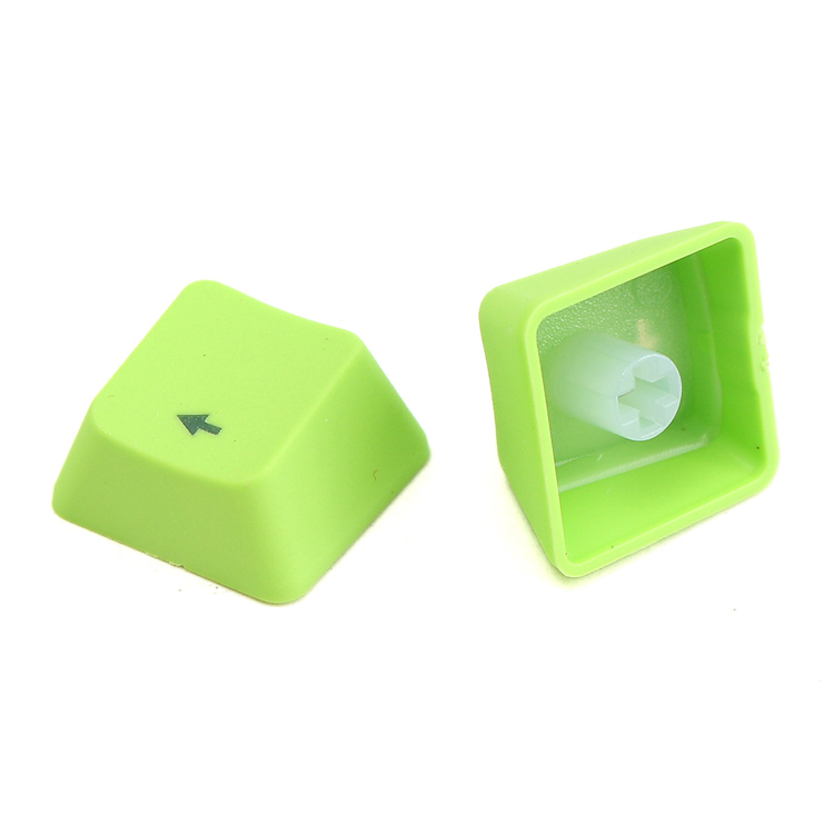 Green Dual shot PBT Translucent 104 KeyCap backlit for Cherry MX Keyboard