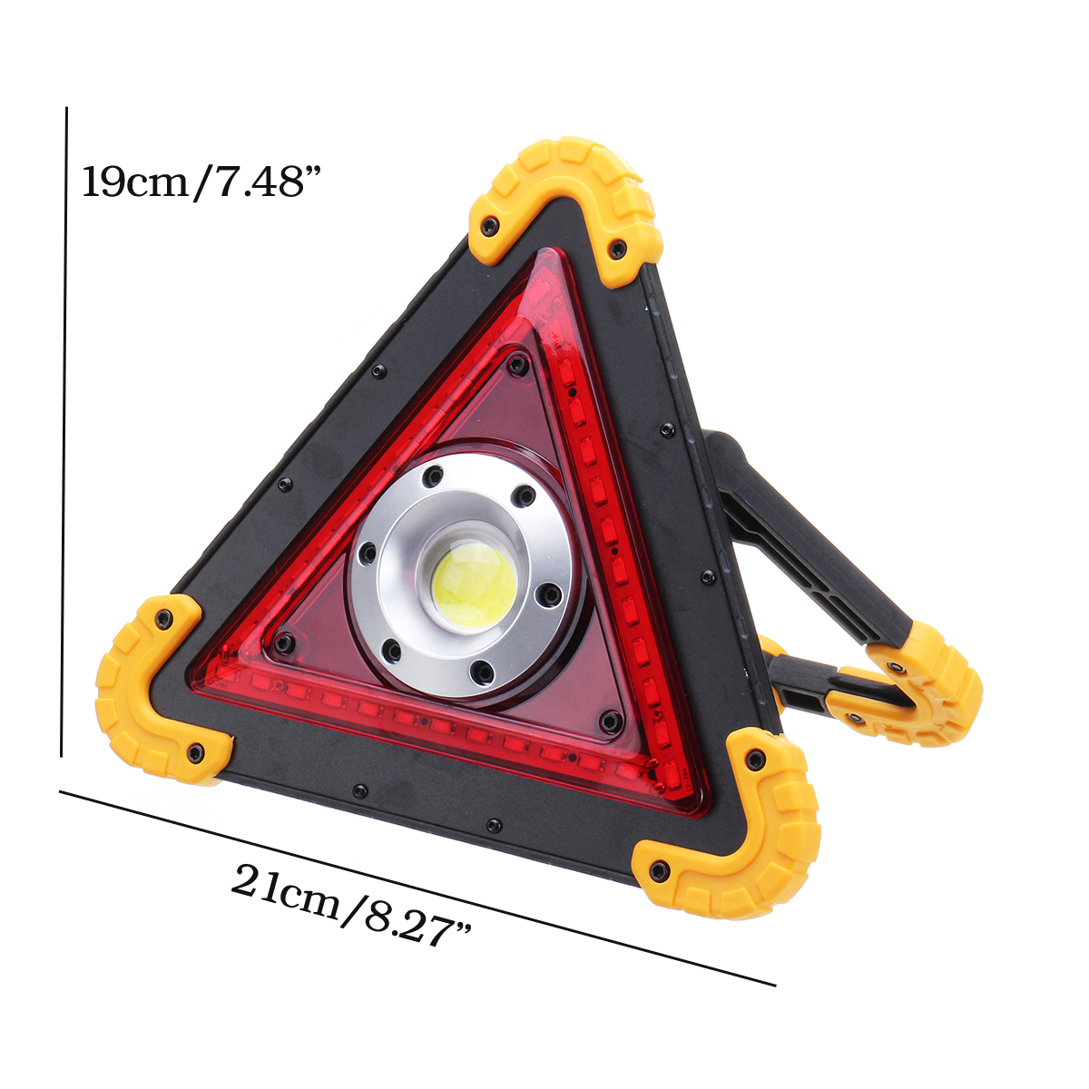 30W 36LED COB Outdoor Camping Lantern USB Hanging Hook Tent Work Light 4 Modes Lamp