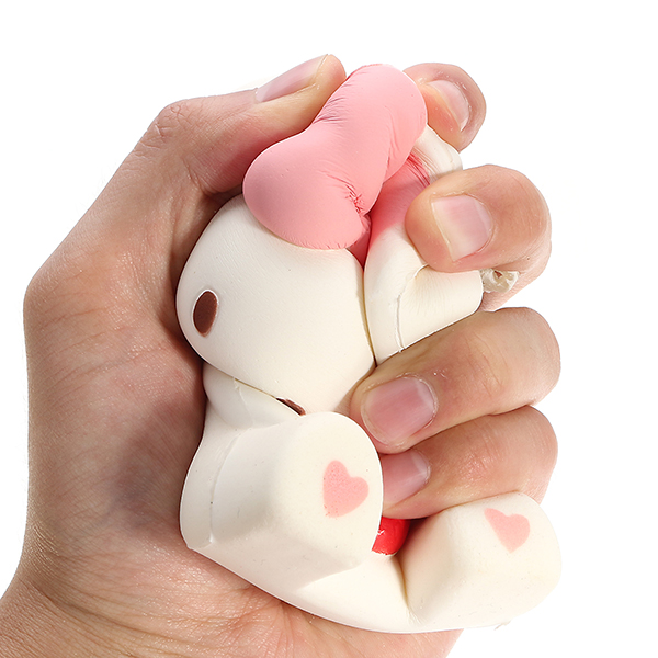 Squishy Rabbit 15*8*7cm Slow Rising With Packaging Collection Gift Soft Toy