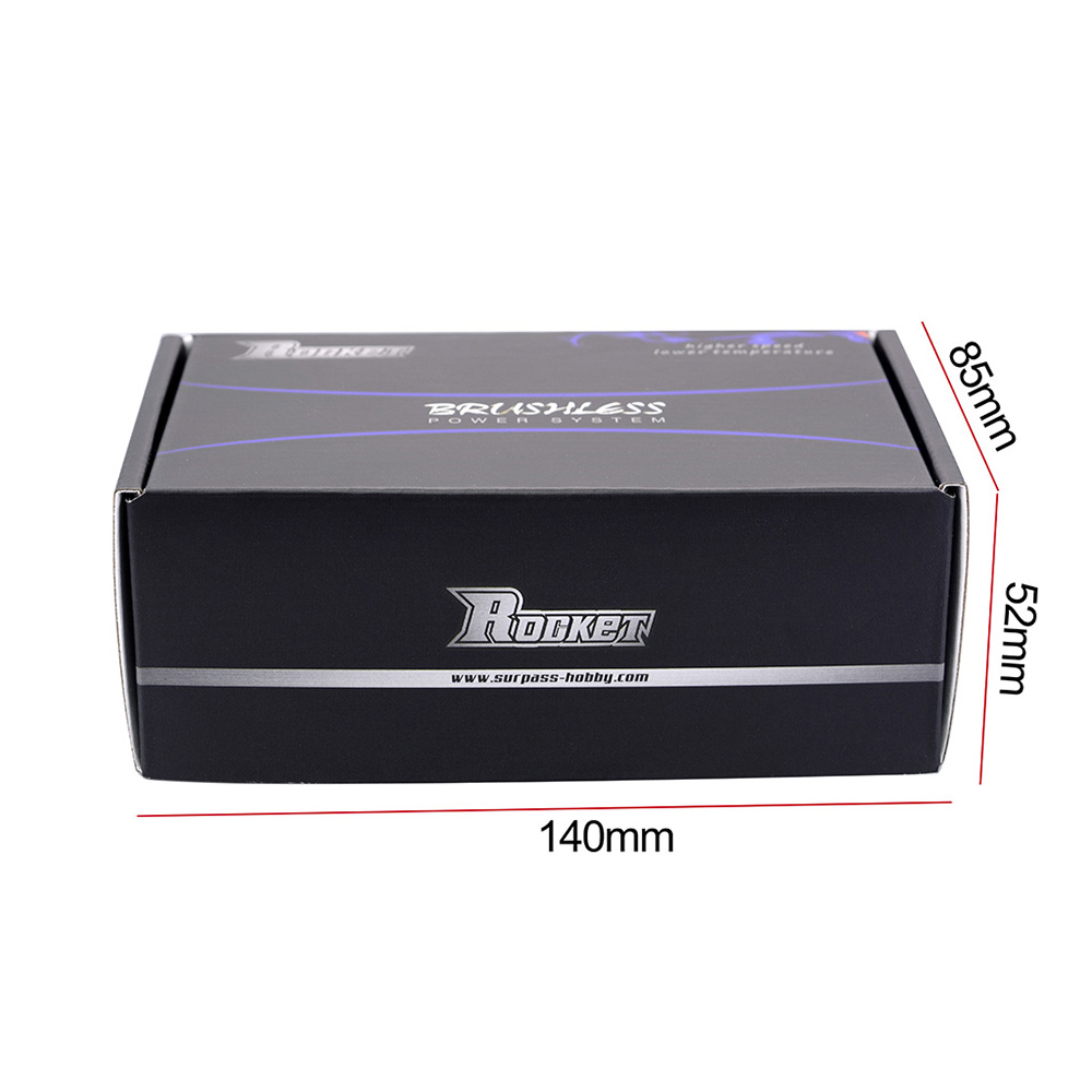 Surpass Hobby ROCKET 4074 Brushless Motor With 40S Aluminum Alloy Water Cooling Suit Power Set for 100cm Long Model Ship RC Boat Parts