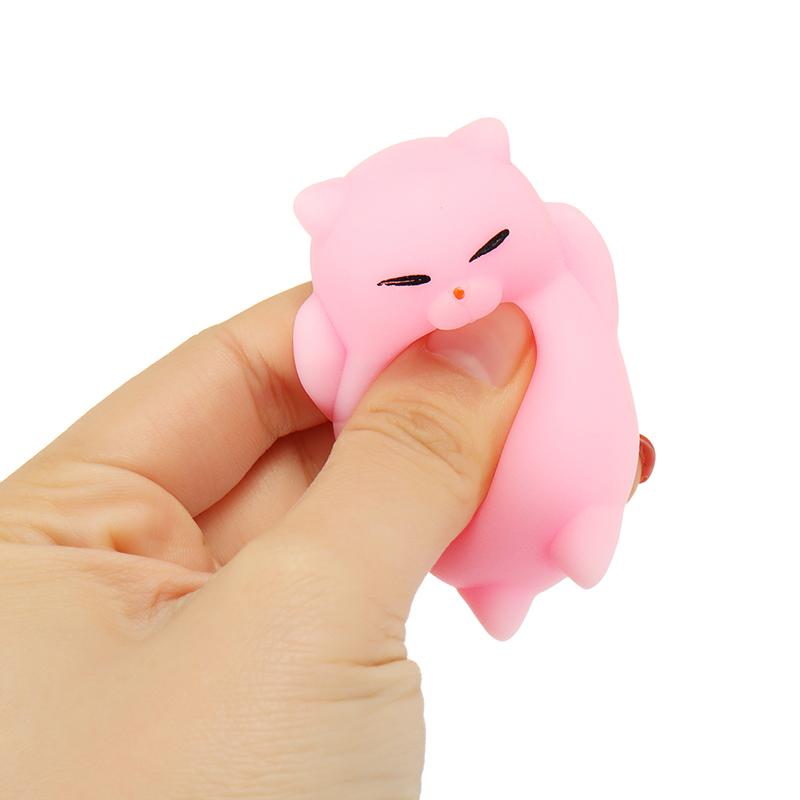 Mochi Kitten Cat Squishy Squeeze Cute Healing Toy Kawaii Collection Stress Reliever Gift Decor