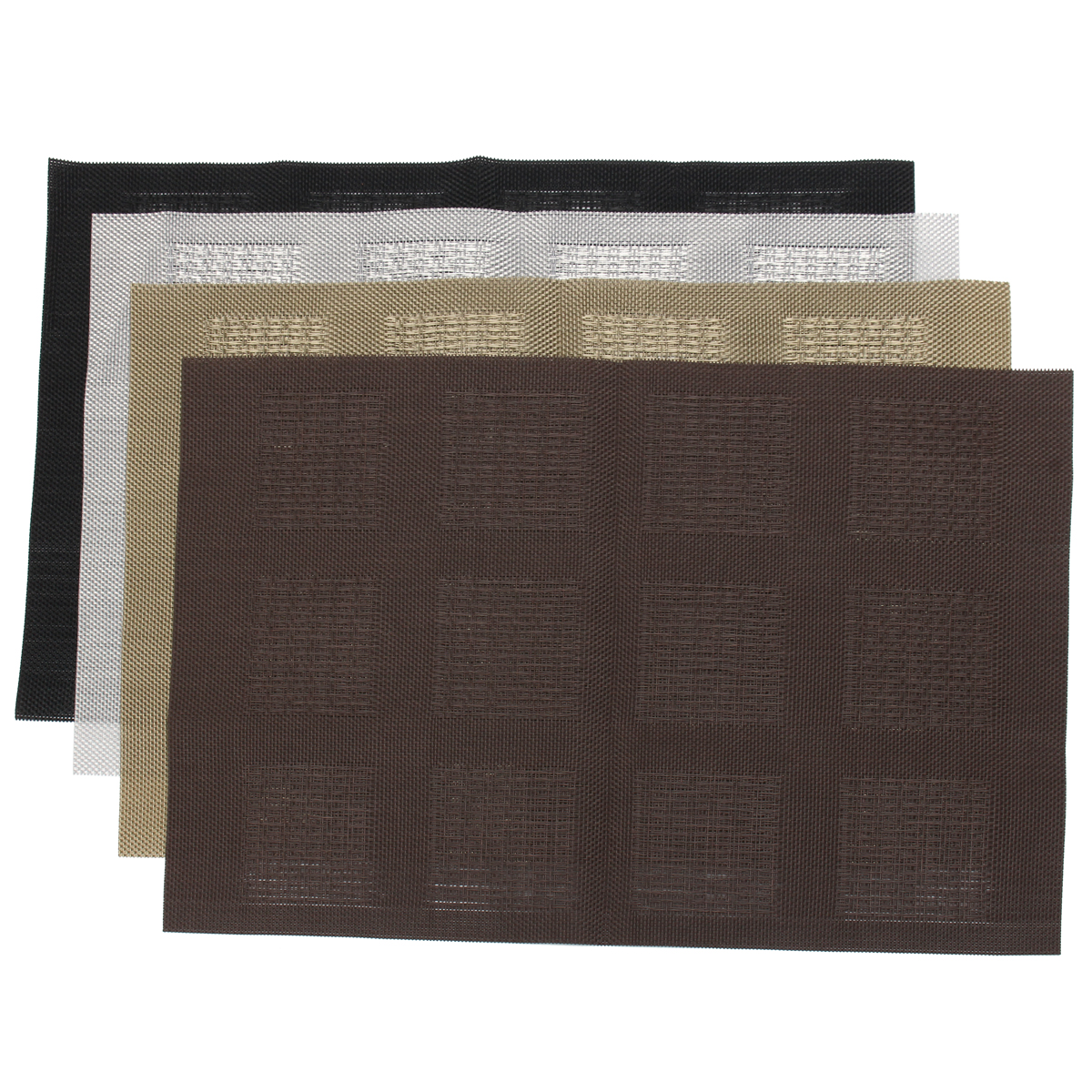 Heat Resistant Dining Table Mat Pad Placemat PVC Insulation Kitchen Tableware