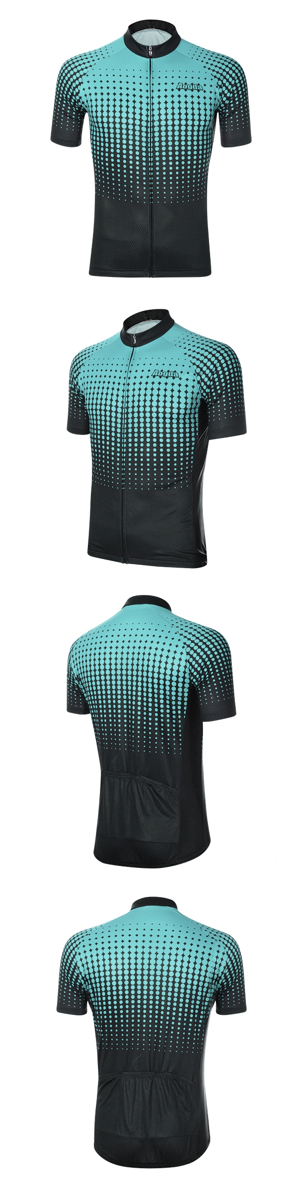 Unisex Outdoor Cycling Jersey Bike Short MTB Bicycle Clothing Skinsuit Breathable Wicking Summer