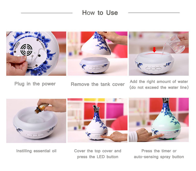 Intelligent Induction Ultrasonic Aromatherapy Machine