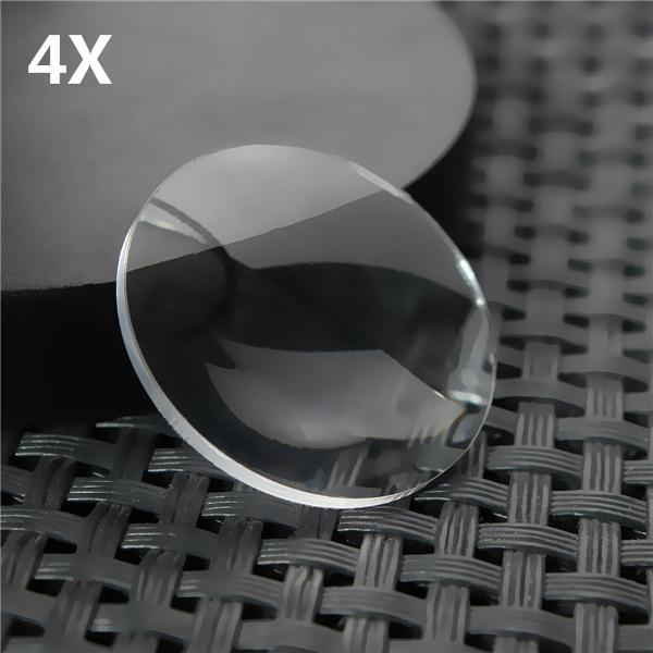 4pcs 25*45MM BiConvex Lens for Google Cardboard 3D VR Glasses