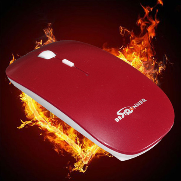 Bestrunner Bluetooth3.0 Slim Wireless Gaming Mouse Windows Vista Android