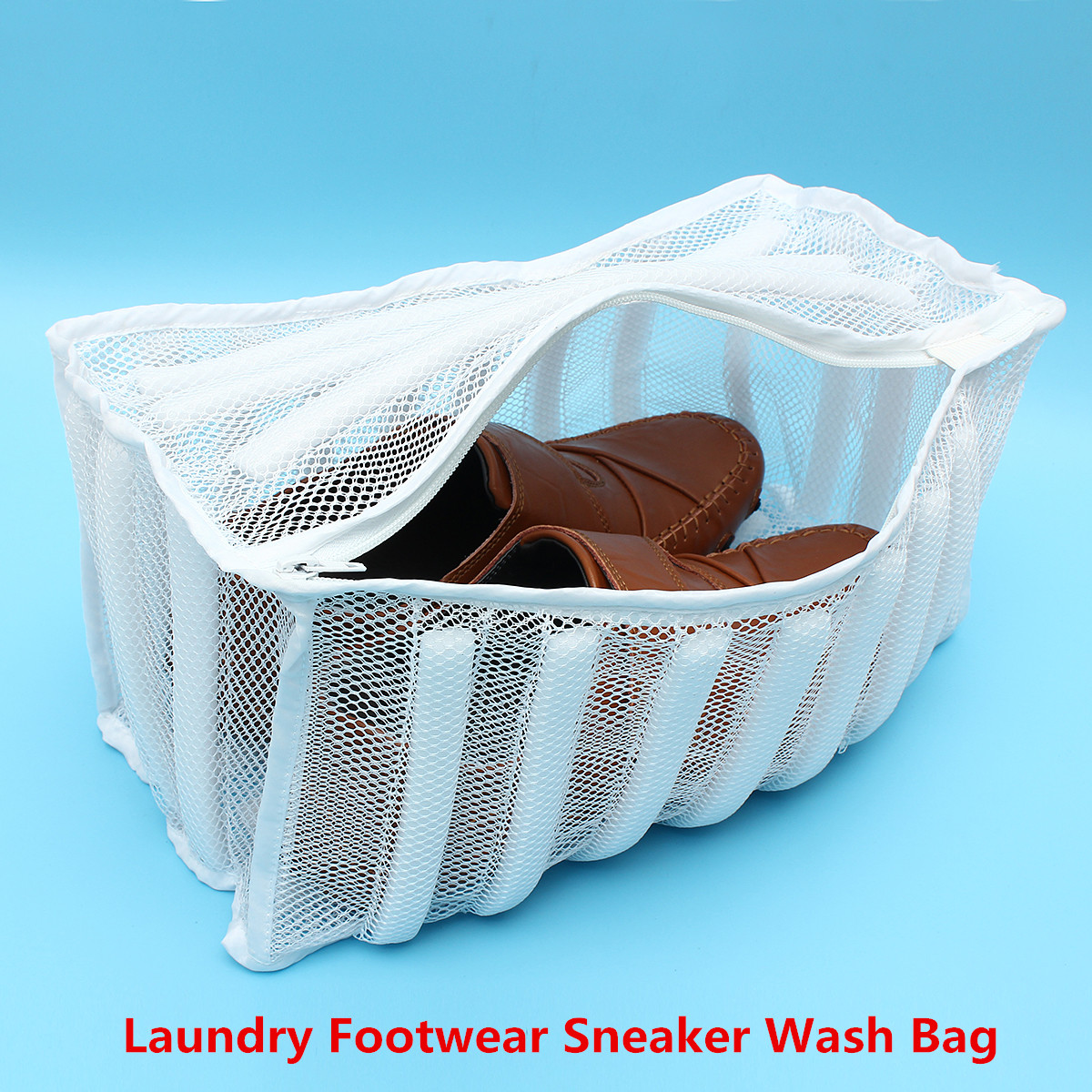 Laundry Footwear Sneaker Washer Dryer White Mesh Wash Bag Shoe Lingerie Clothes